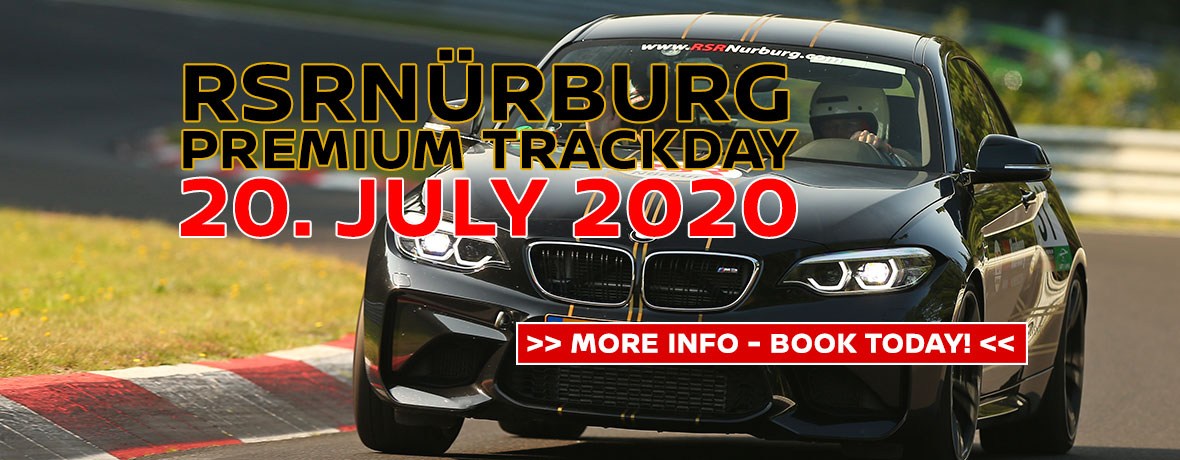 RSRNurburg Premium Trackday 20. July 2020
