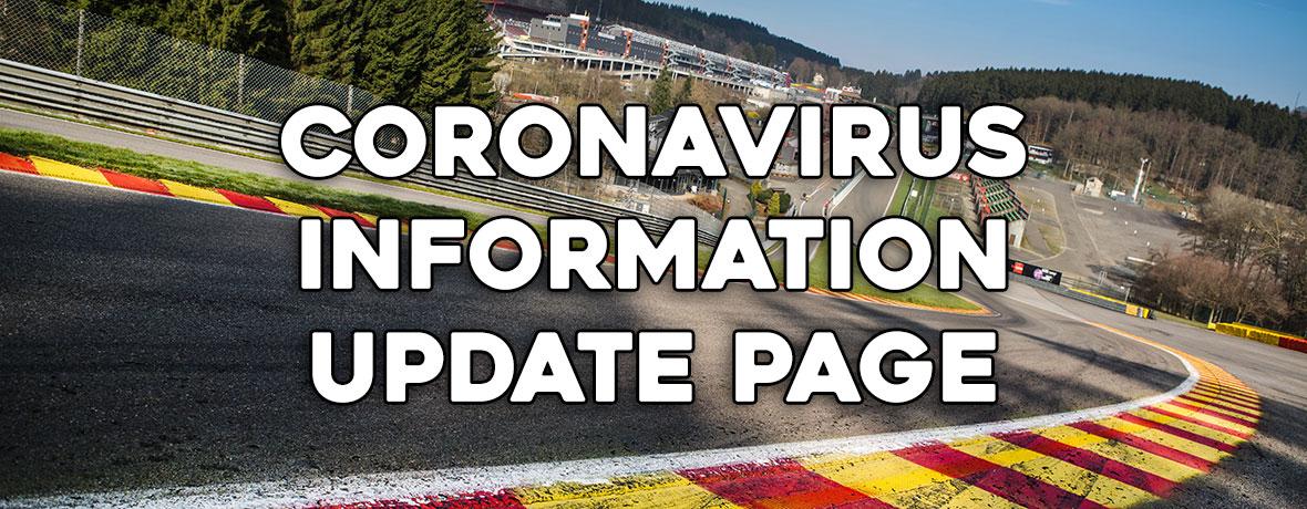 Coronavirus Covid19 update – RSRSpa