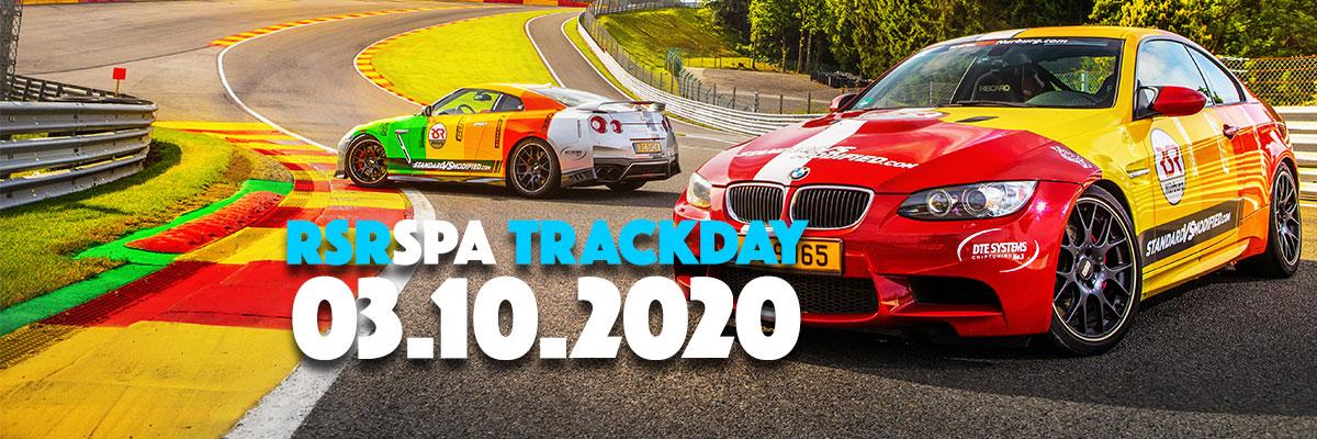 03 octobre 2020 – Nouvelle date de trackday!
